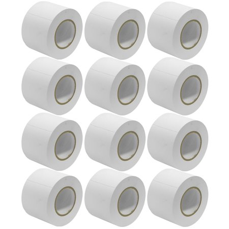 Seismic Audio 12 Pack of Gaffer's Tape - White 4 inch Rolls 60 Yards per Roll Gaffers Tape White - SeismicTape-White604-12Pack