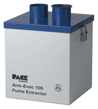 PACE 8888-0110-P1 Soldering Fume Extractor, 120V, 10ft.
