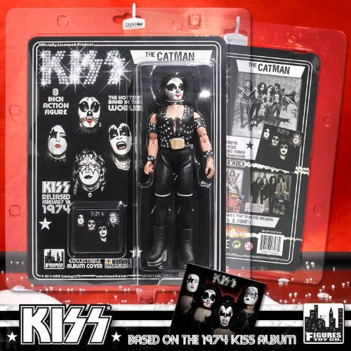 """""""Action Figures - Kiss #2 The Catman 8"""""""" Licensed Toys KISS823"""""""
