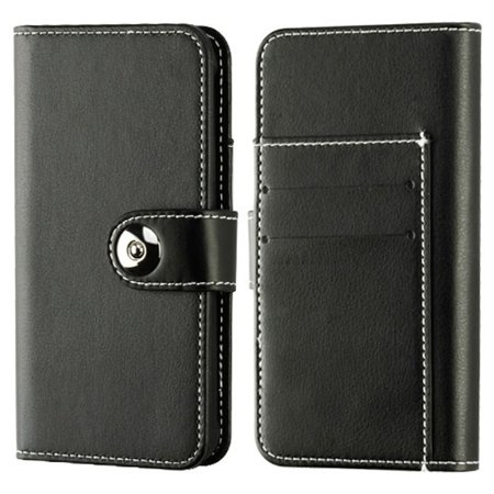 """Insten Detachable Magnetic Folio Flip Leather Wallet Flap Pouch Case Cover for Apple iPhone X XS edition 5.8"""" (2017) - Black - image 2 of 4"""