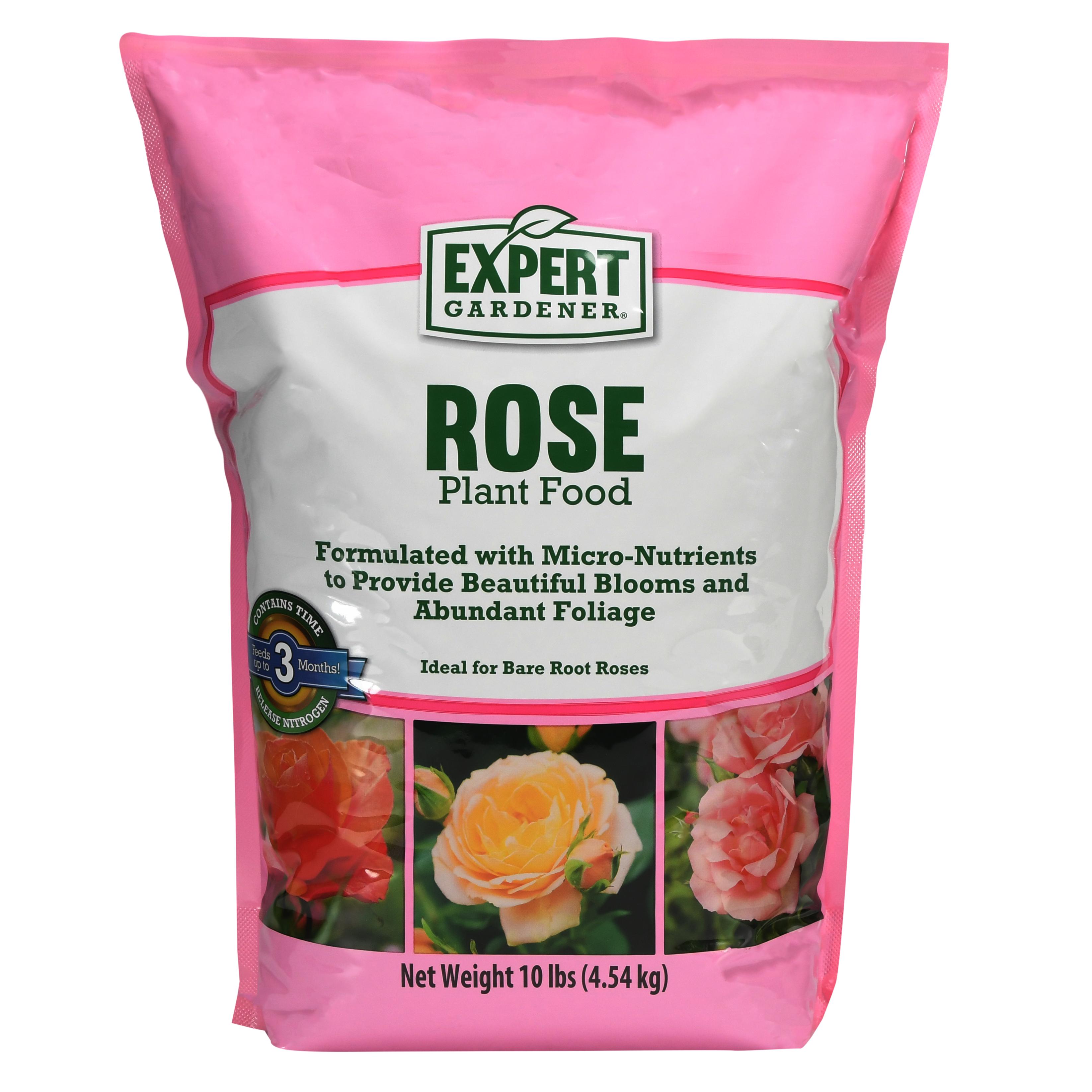 Expert Gardener Rose Plant Food 12-6-10, 10 lbs