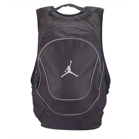 Nike Air Jordan Jumpman Black Book-Bag BackPack 9A1118-804 Size (Nike Air Max 90 Leather Black Grey)