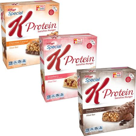 - Kelloggs Special K Protein Bars Bundle - Value Packs (Pick 3)