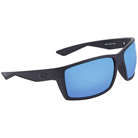 87f1852811 Costa Del Mar - Men s Reefton RFT01 OBMGLP Blackout 580G Polarized  Sunglasses 64mm - Walmart.com