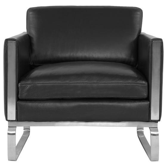 Outstanding Kardiel Kardiel Amsterdam Ch101 Mid Century Modern Chair Premium Black Aniline Leather Inzonedesignstudio Interior Chair Design Inzonedesignstudiocom