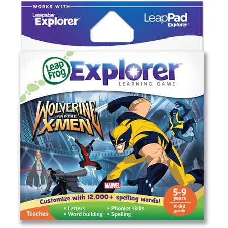 (LeapFrog Explorer Learning Game: Wolverine and the X-Men (works with LeapPad & Leapster Explorer))