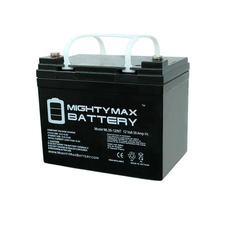 12V 35AH SLA Internal Thread Battery for Titan Front Whesel Power - image 6 of 6