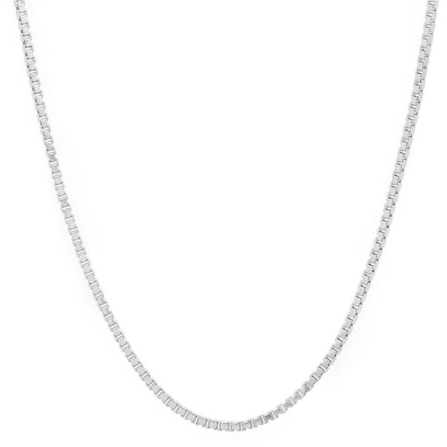 Image of A .925 Sterling Silver 2mm Box Chain, 16""