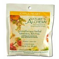 Nature's Alchemy - Aromatherapy Mineral Baths, Joyful Heart 3 oz each