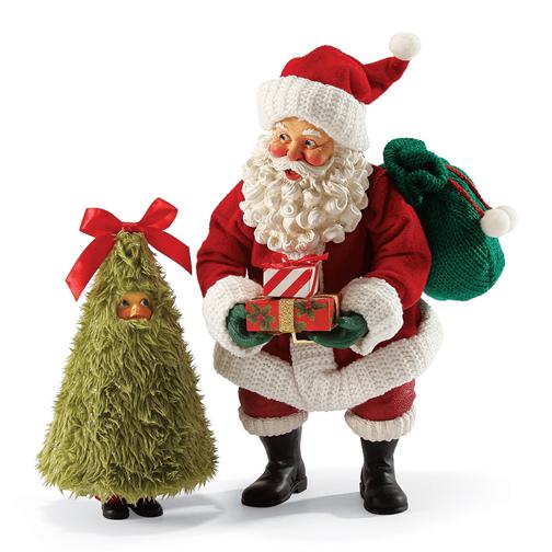 Dept 56 Possible Dreams 4038736 Santa Claus Are You Fur R...