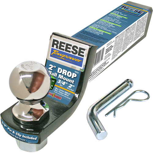 "Reese Carry Power U-Venture 48"" Round Rooftop Cross Bars ..."
