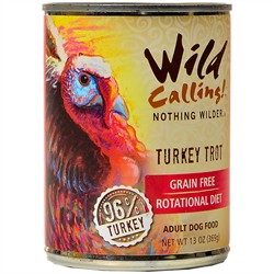 Wild Calling Turkey Trout Canned Dog Food, 13 oz