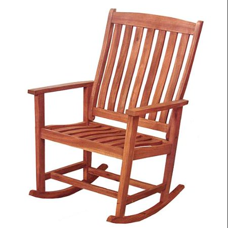 41 Quot Acacia Wood Outdoor Patio Furniture Rocking Chair