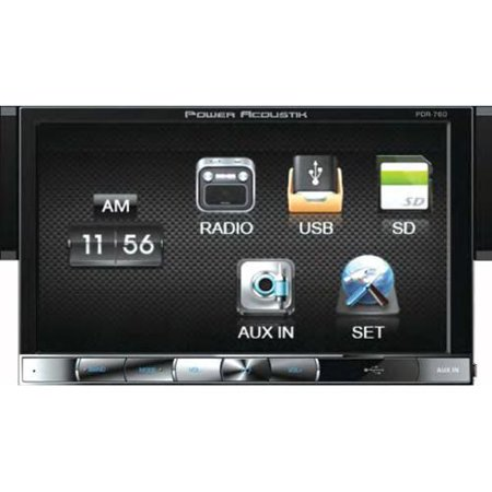 new power acoustik pdr 760 7 car stereo touchscreen car radio 1 new power acoustik pdr 760 7 car stereo touchscreen car radio 1 din car