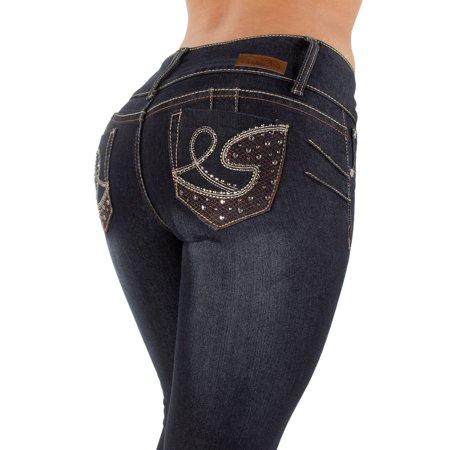 Plus Size High Waist, Butt Lifting, Skinny Leg Jeans