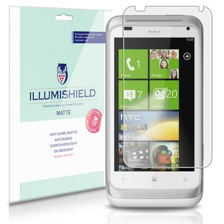 iLLumiShield Anti-Glare Matte Screen Protector 3x for HTC Radar (T-Mobile)
