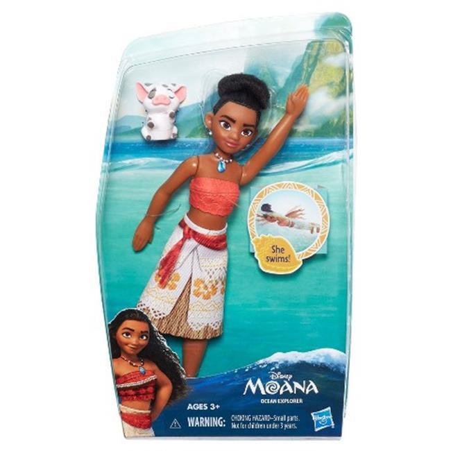Hasbro HSBB8295 Disney Princess Moana Fashion Ocean Explorer, Pack of 4 by Hasbro