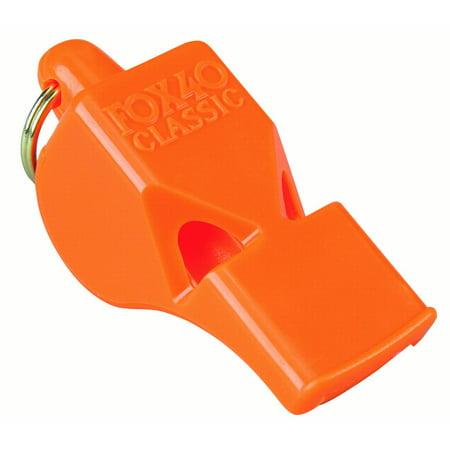 FOX40 CLASSIC MARINE PEALESS WHISTLE Orange  #715666