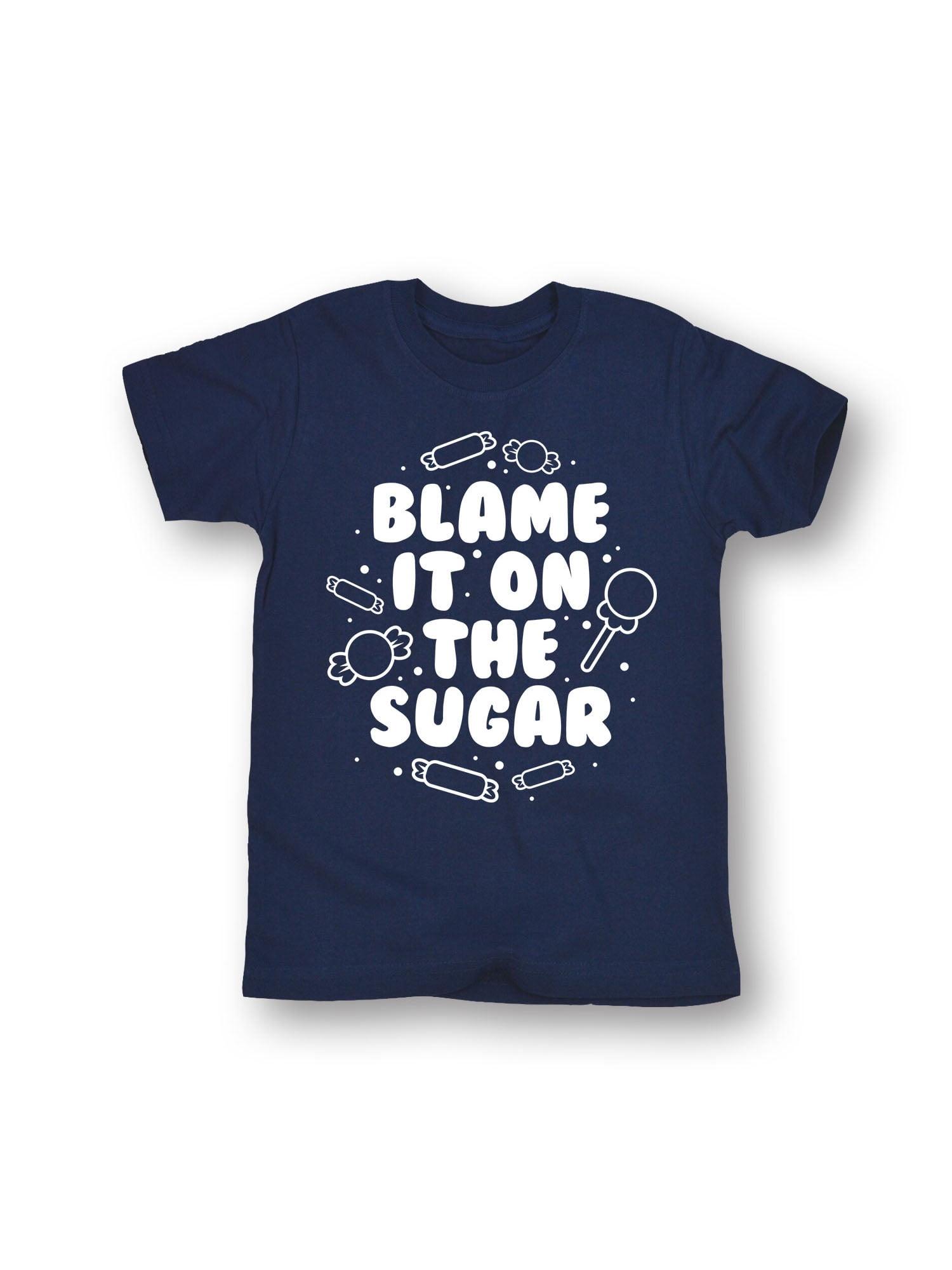 Blame It On The Sugar  - Toddler Short Sleeve Tee