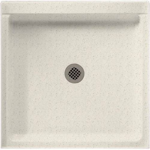 """Swan SS-3232-010 32"""" x 32"""" Swanstone Shower Base (Drain Included), Available in Various Colors"""