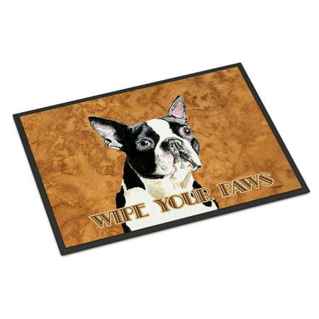 Boston Terrier Door Mat Doormat (Boston Terrier Door Mat)
