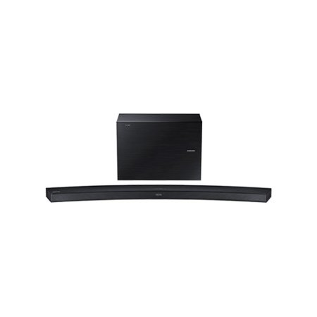 Samsung  2.1-Channel Wireless Multiroom Curved Soundbar with Wireless Subwoofer HW-J4000/ZA