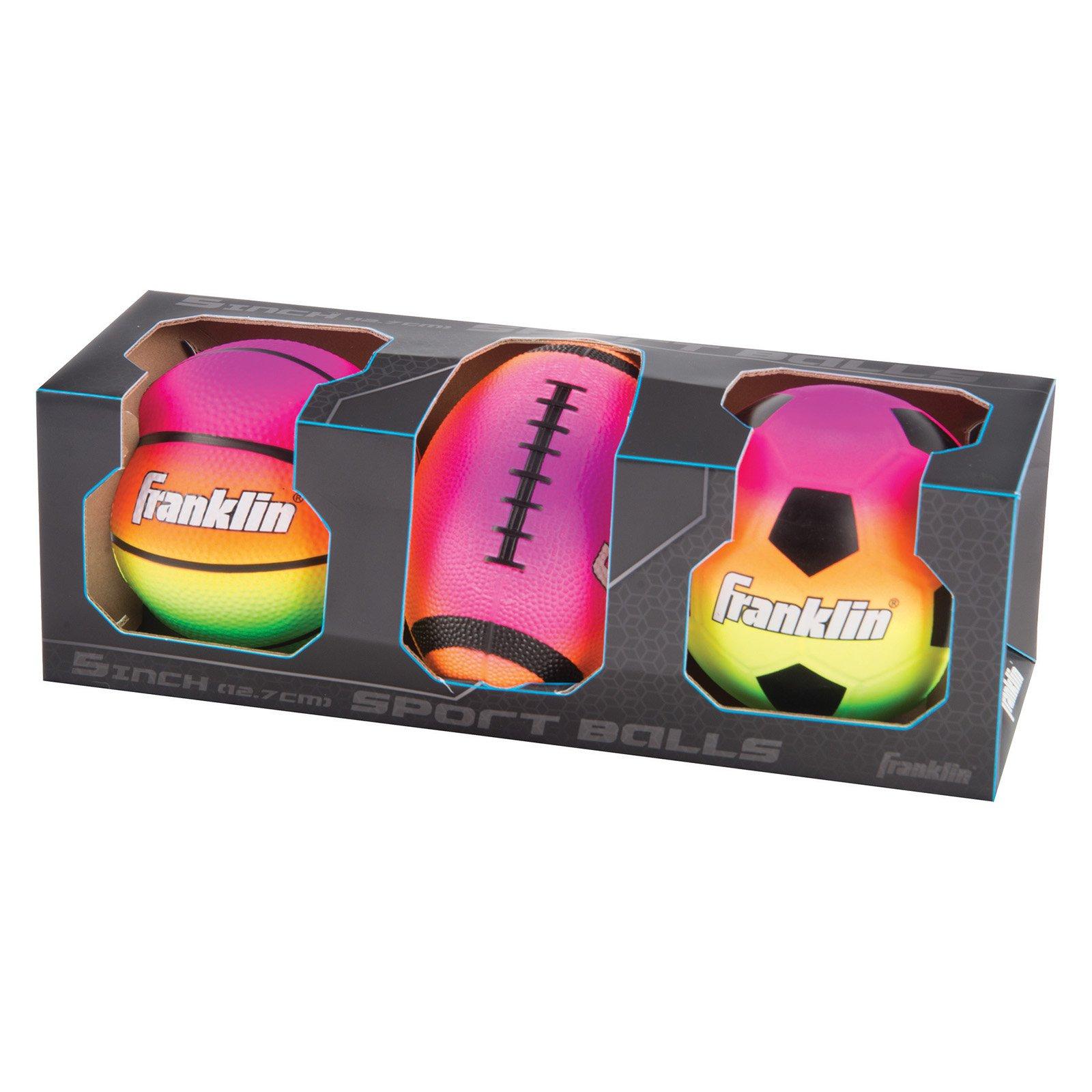 Franklin Sports Micro Vibe Balls, 3pk