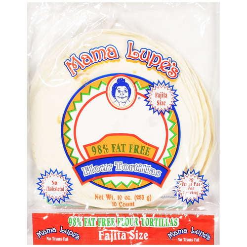 Mama Lupe's: Fajita Size Flour Tortillas, 10 Oz