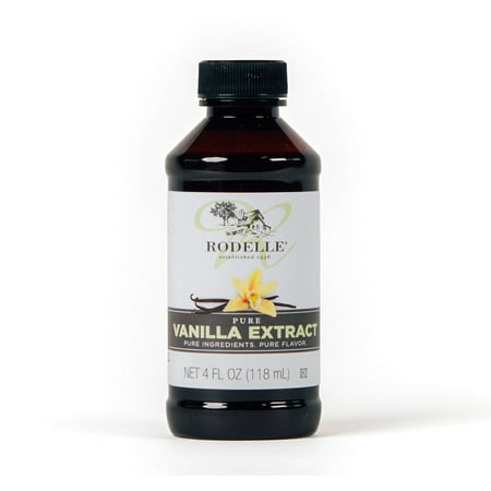 Rodelle Pure Vanilla Extract, 4 oz - Meyer Extract