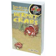 Zoo Med Laboratories SZMZB40 The Proper Care of Hermit Crabs Book Multi-Colored