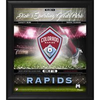 """Colorado Rapids Framed 15"""" x 17"""" Welcome Home Collage"""