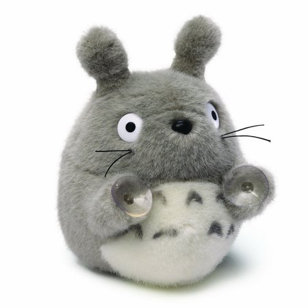 Enesco ENS-6353-C Totoro Plush With Suction Cups