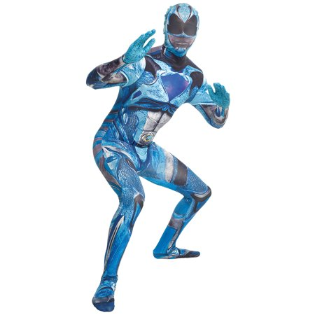 Blue Morphsuit Halloween Costume Ideas (Morphsuits Men Saban's Power Rangers Movie Character Morphsuit,)