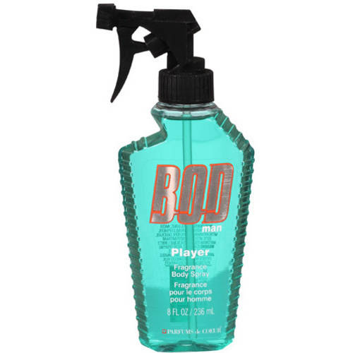 Bod Man Player Body Spray, 8 fl oz