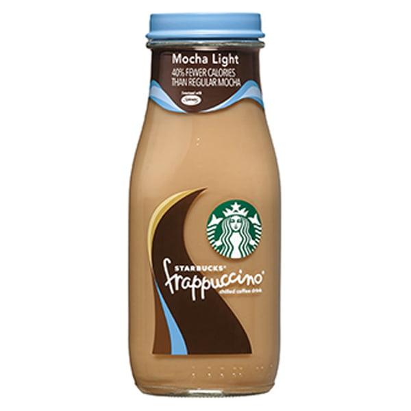 Starbucks Mocha Light Frappuccino 9.5 oz Glass Bottle ...