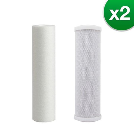 Filter Kit For Aqua Flo 3 Stage RO System (2-Pack) Replacement RO Filter
