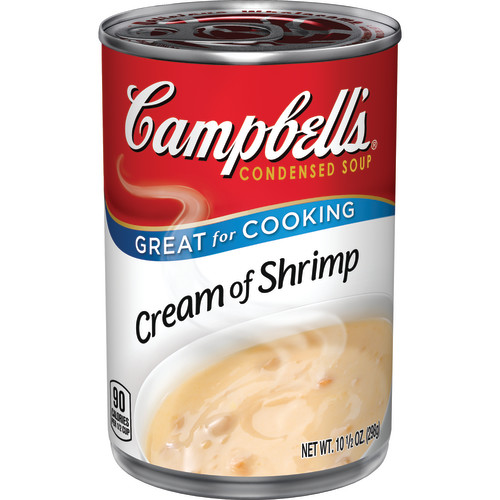Campbell's Condensed Cream of Shrimp Soup, 10.5 oz.