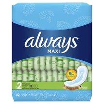 Maxi Pads: Always Maxi