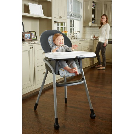 Graco Table 2 Table High Chair, Goldie - Walmart.com