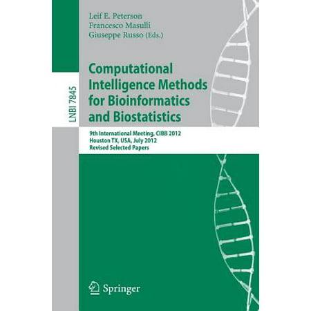 Computational Intelligence Methods for Bioinformatics and Biostatistics : 9th International Meeting, Cibb 2012, Houston, TX, USA, July 12-14, 2012. Revised Selected Papers - Halloween Houston Tx