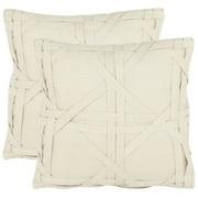 Safavieh Maddie Geometric Pillow, Set of 2