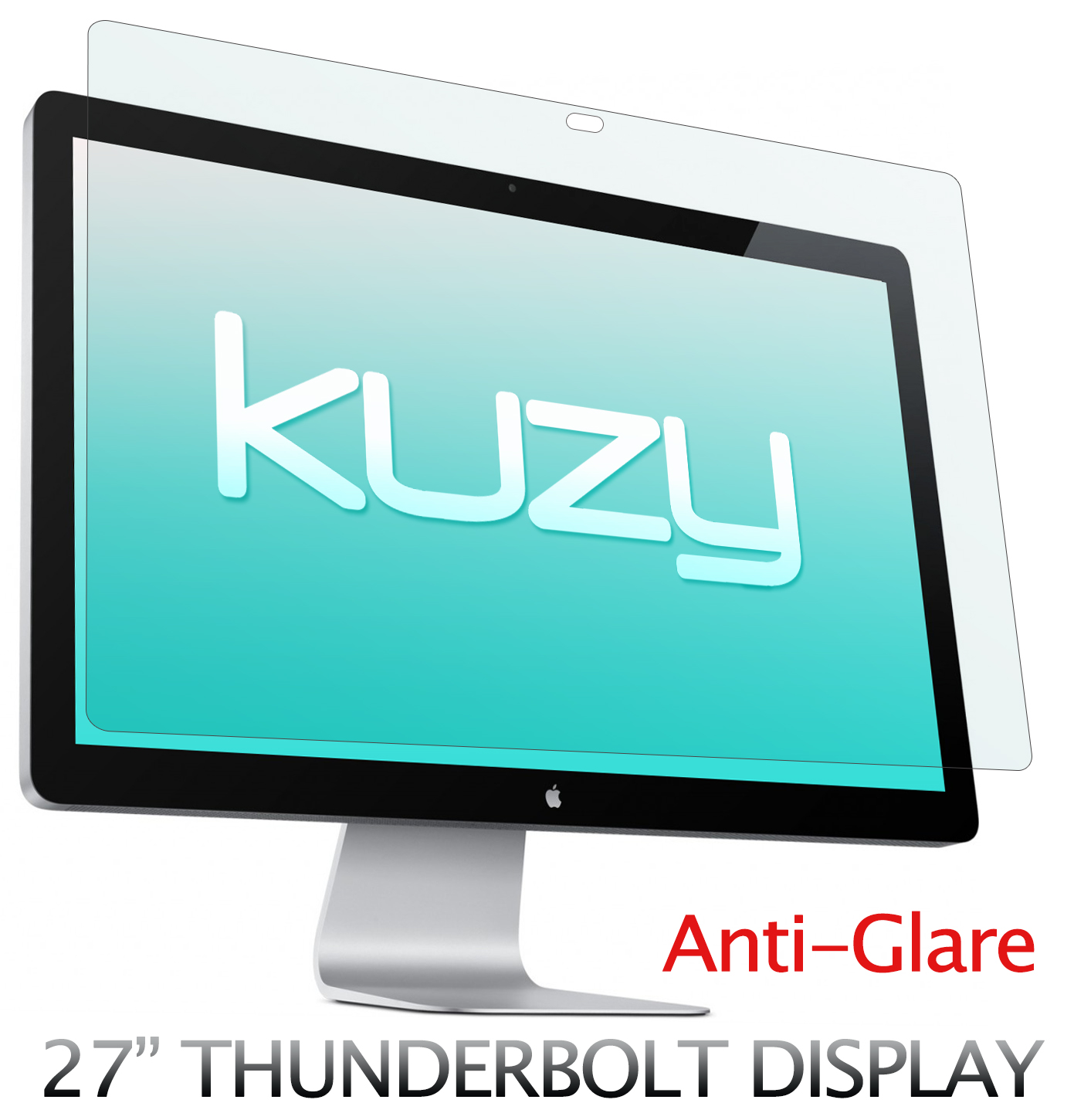 "Kuzy - Anti-Glare Matte Screen Protector Filter for 27 inch Apple Thunderbolt and/or Cinema Display 27"" Model: A1316 and A1407 - ANTI-GLARE"
