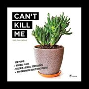 TF PUBLISHING 2021 Can't Kill Me - Plants Monthly Wall Calendar - Illustrated Appointment Tracker w/ Contacts/Notes Page-Enhance Home or Office Planning and Organization- Premium Matte Paper 12x12inch