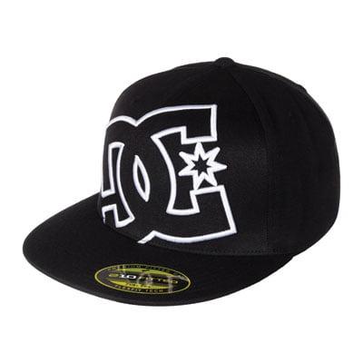 DC Ya Heard Flex Fit Hat Large/X-Large Black