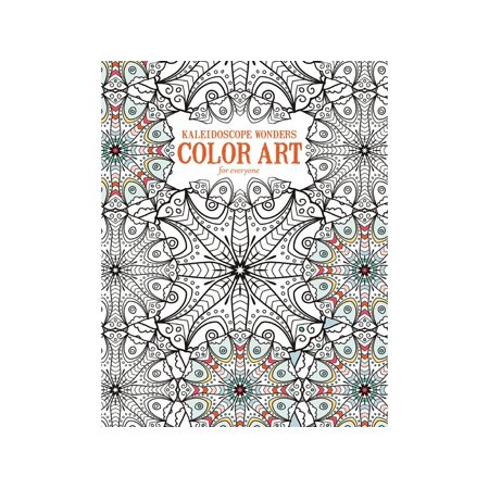 kaleidoscope wonders color art for everyone coloring book - Color Books