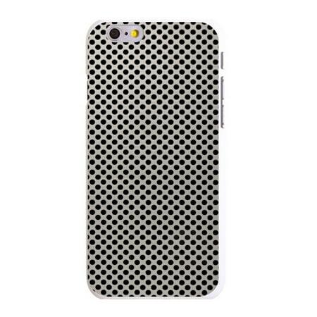 Aluminum Hard Plastic Snap (CUSTOM White Hard Plastic Snap-On Case for Apple iPhone 6 PLUS / 6S PLUS (5.5