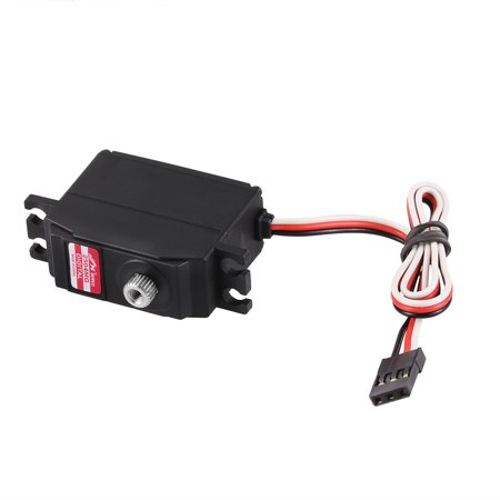 JX PDI-2504MG 25g Metal Gear Digital Coreless Servo for RC 450 500 Helicopter Fixed-wing Airplane - image 5 of 7