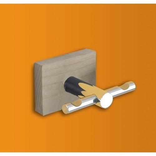 Gedy by Nameeks Minnesota Wood Wall Mounted Bathroom Hook
