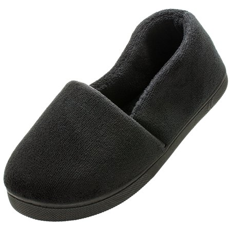 Isotoner Women's Microterry Espadrille Black Medium 7.5-8 wOcI2a