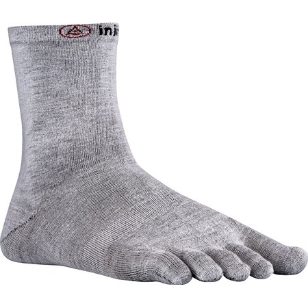 Liner Crew Toesocks, Crew Coolmax Gray injinji Injinji Socks Weight NuWool Sport 3Pack Toesocks Original Liner By Injinji
